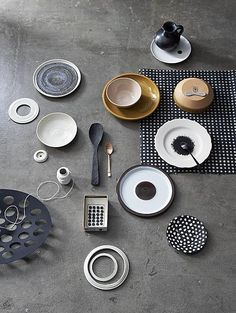 Styling / Dennis Brandsma  / design tableware