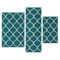 You'll love the Carissa Teal Indoor Area Rug at Wayfair - Great Deals on all Rugs products with Free Shipping on most stuff, even the big stuff.