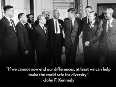 – President Kennedy's commencement address at American University, June 10, 1963 http://www.people.com/people/gallery/0,,20758470,00.html#30051225