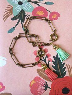Tower Brook Bracelet by adjewelry on Etsy