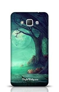 Spooky Forest With Dead Trees Samsung Galaxy A5 Phone Case