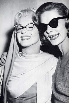 Marliyn Monroe and Lauren Bacall - How to Marry a Millionaire