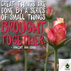 Remember: little things add up. Put love into every choice you make. #FairTrade  #inspirationalquotes
