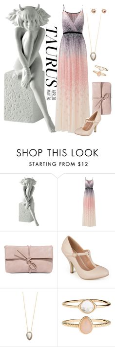"""""""Taurus Tease"""" by nikitamarceau on Polyvore featuring Royal Copenhagen, Badgley Mischka, LULUS, Journee Collection, Native Gem and Accessorize"""