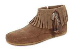 Minnetonka Moccasins Suede Boot