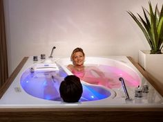 Ying Yang Couple's Bathtub Is Perfect For One Of Those Days
