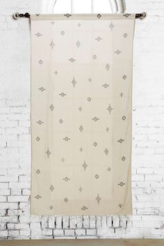 Toures Symbology Curtain Panel