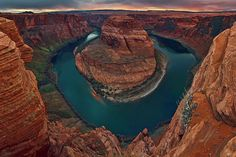 'Horseshoe Bend' ~ Page, Arizona