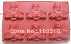 Aliexpress.com : Buy Green Good Quality 100% Food Grade Silicone Cake Mold/Chocolate Mold/Muffin Cupcake Pan Garfield Mold from Reliable Silicone Cake Mold suppliers on Silicone DIY Mold and  Home Supplies Store $9.97