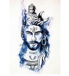 Mahakal Shiva, Lord Krishna, Angry Lord Shiva, Desi Quotes, Om Namah Shivaya, Lorde, Sketchbooks, Adobe Photoshop, Raven