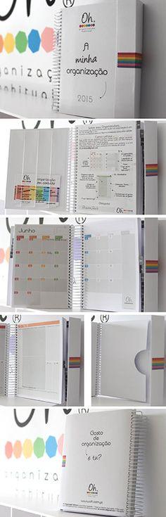Organizadora (Agenda) para 2015!  Muiiiiito útil! Não concordam?! :)