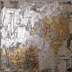 lindsay cowles- gold & silver leaf