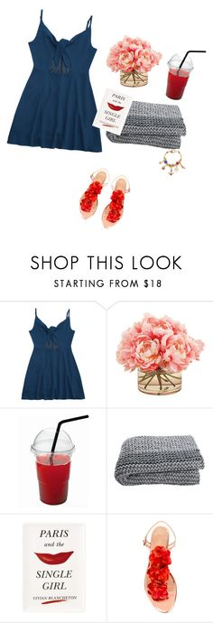 """""""Ordering In."""" by violetluvli0987 ❤ liked on Polyvore featuring The French Bee, Kate Spade, Charlotte Olympia and Kim Rogers"""