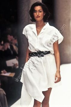 Yasmeen Ghauri FENDI Runway Show SS 1995