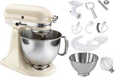 KitchenAid® Küchenmaschine Artisan 5KSM150PSEAC, inkl Sonderzubehör im Wert von ca 210€ für 649,00€. 5 Jahre Hersteller-Garantie, Ganzmetall-Gehäuse bei OTTO