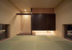 和室: ISDアーキテクト/一級建築士事務所が手掛けたtranslation missing: jp.style.多目的室.modern多目的室です。