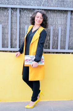 Yellow vest - Mi Vestido Azul |Fashion and Lifestyle Blog | Spanish bloggerMi Vestido Azul |Fashion and Lifestyle Blog | Spanish blogger
