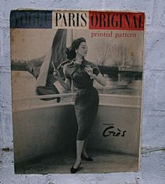 Vogue Paris Original 1417 by Grès