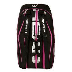 HEAD Tennistaschen (Schlägertasche) Tour 12R Limited Monstercombi -  black/silver/pink