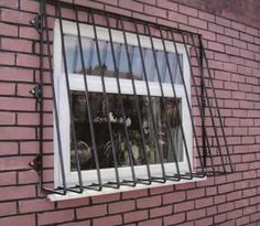 Security bar window grills
