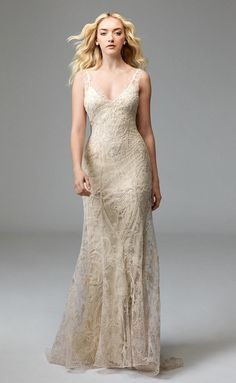 Willowby by Watters Fall 2016 | https://www.theknot.com/content/willowby-dresses-bridal-fashion-week-fall-2016