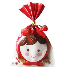 20 Red hood cookie bags-Great wrapping for cookie, chocolate, gift