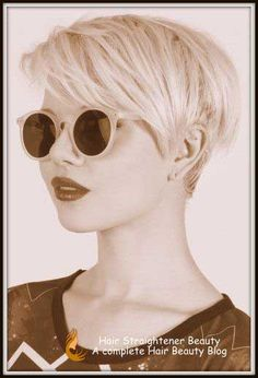 Short hairstyles for women over 50 - Finer hair