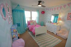 ***Girls bedroom- my favorite so far!