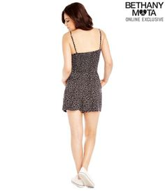 Calico Romper - Summer Bethany Mota Collection