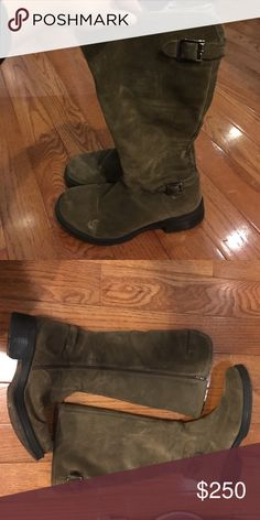 La Canadienne water proof suede boots Worn a few times but in excellent condition. Suede and water proof La Canadienne Shoes Winter & Rain Boots