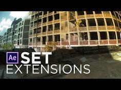 Matte Painting / Set Extension VFX Tutorial - YouTube