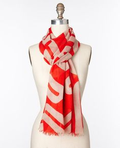 Wool scarf from Ann Taylor- what do you think?