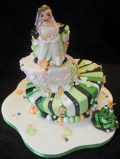 Happily Ever After Frog Prince Wedding Favor Savers