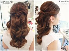 Sophie Lau Makeup and Hair: Wedding Photos