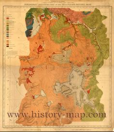 50 Best Yellowstone Maps images | Map of yellowstone, Wyoming ...