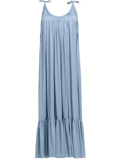 Spaghetti Strap Plain Maxi Dress – Ratecutestore Source by abiti Vacation Dresses, Beach Dresses, Spring Dresses, Maxi Dresses, Dress Beach, Linen Dresses, Dress Silhouette, Boho Dress, Dress Casual