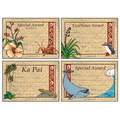 Aotearoa   Kapahaka certificates