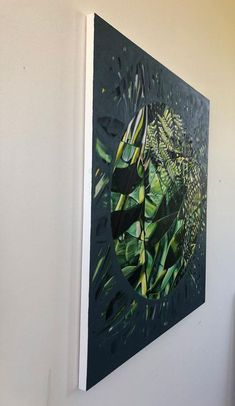 Claudia Gurwitz: Ingress: fine art | StateoftheART South African Art, Living Room Green, Office Art, Canvas Size, Original Artwork, Abstract, Gallery, Artist, Painting