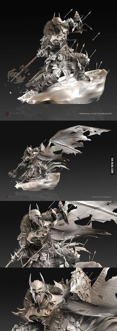 Viking Batman is badass! - 9GAG