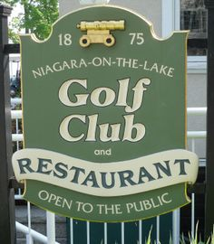 Niagara-on-the Lake.  Oldest golf course in north america