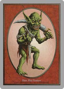 Goblin token card