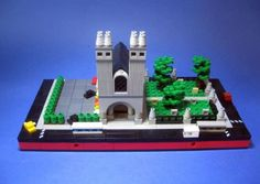 St Stephen's: A LEGO® creation by Max Braun : MOCpages.com