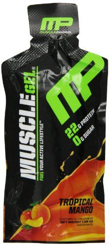 Muscle Pharm Muscle Gel, Variety Pack, 1.55-Ounce, 12 Count