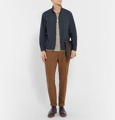 Camoshita - Slim-Fit Cotton-Blend Jacket