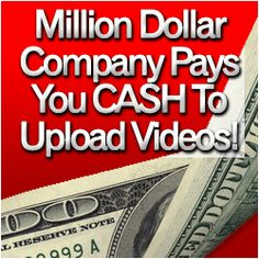 TubeLaunch, the only place online where you can earn cold hard cash simply by uploading videos! Work From Home Jobs, Make Money From Home, Way To Make Money, Make Money Online, How To Make, Cold Hard Cash, Making Money On Youtube, Money Matters, Extra Money