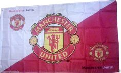 Manchester United Flag Banner Official Football Gifts Banner, Flag Size 5x3 (152CM x 91CM ) Brand New FREE POSTAGE UK