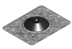 Oatey 12801 1/2-Inch, 9-1/2-Inch by 12-1/2-Inch Aurora Solar Flashing, Galvanized ** Read more at the image link.