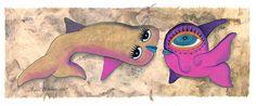 Robándote un beso Scooby Doo, Character, Art, Swimmers, Kisses, Craft Art, Kunst, Gcse Art, Art Education Resources