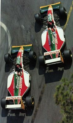 1993 - Zanardi / Herbert - Lotus - MonacoGP