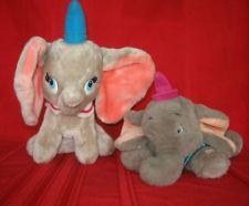 Disney Dumbo & mom mrs Jumbo Plush Stuffed Flying Circus Elephant Toy